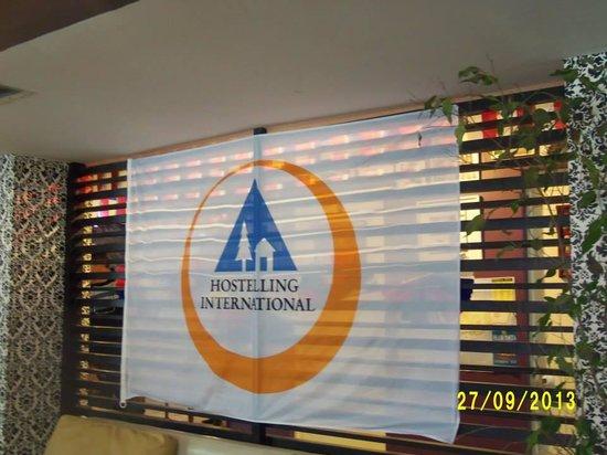 Hostel Cienfuegos: Área de convivência