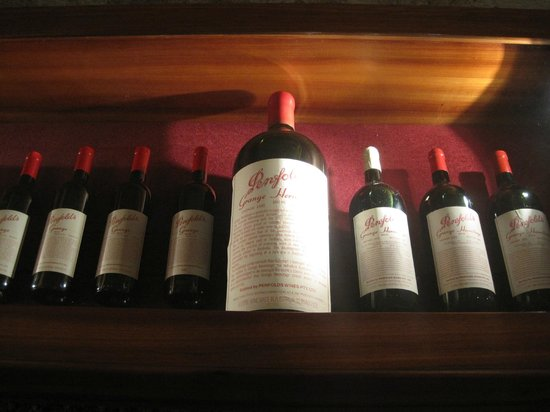 Penfolds Magill Estate Cellar Door: Grange