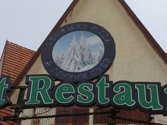 Forest Restaurant : look up to see the sign over the front door