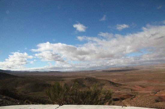 Forest Restaurant : a few minutes drive away, here's a beautiful lookout point.  Ifrane is pretty