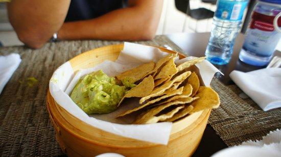 Paradisus Playa Del Carmen La Esmeralda: It's not Guacamole,it's only mashed avocado.