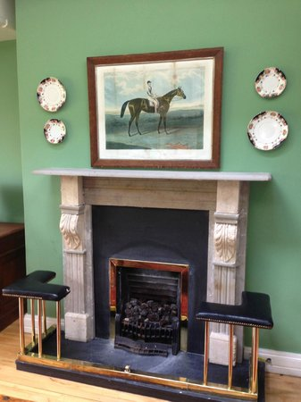 Dunraven Arms Hotel: Fireplaces like these are throughout the hotel