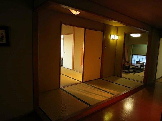 Hotel Urashima Sanjokan: コーナールーム