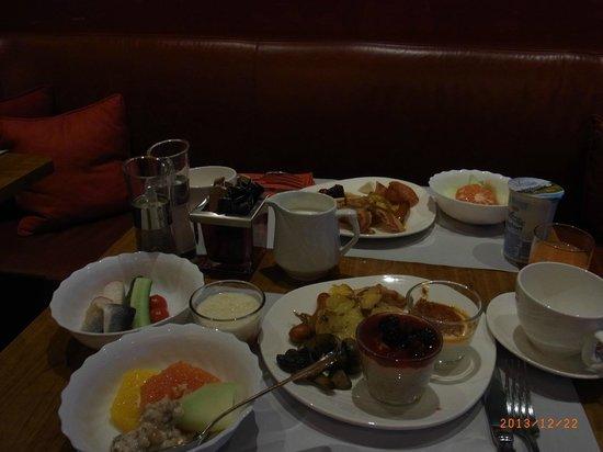 Budapest Marriott Hotel: 朝食