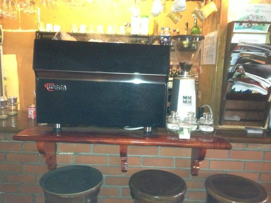 Le Gecko: Coffee Machine