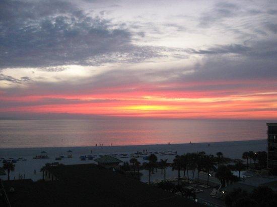 Sirata Beach Resort: Beautiful Sunset