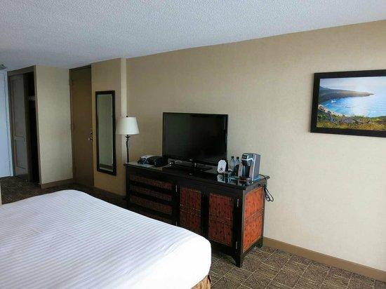 Aston Waikiki Beach Hotel : 17階のオーシャンフロントルーム