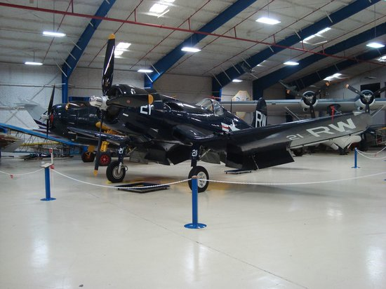 Lone Star Flight Museum - Corsair