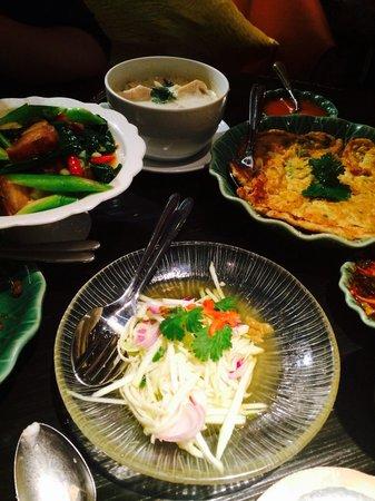 High Tea Menu Picture Of Erawan Tea Room Bangkok