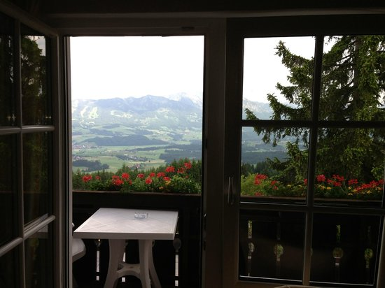 Familotel Allgauer Berghof: View from inside our room