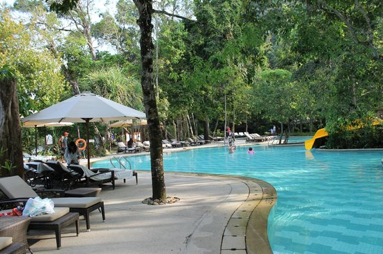 The Andaman, A Luxury Collection Resort : pool with the slide