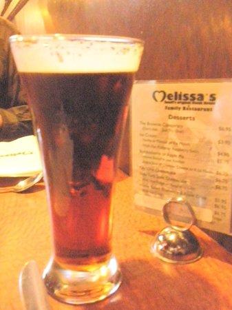 Melissa's Restaurant and Bar: ビール