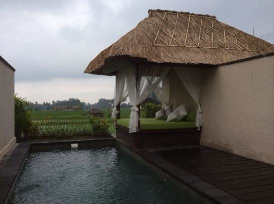 Alam Puisi Villa: The view from our villa