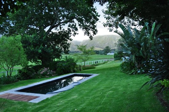 Arumvale Country House: Pool and well maintained garden