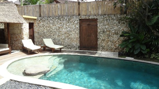 Villa Kubu Boutique Hotel & Spa: Our pool inside our villa