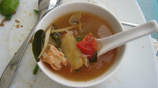 The Sea House - Maldives: tong yong gong (soup)