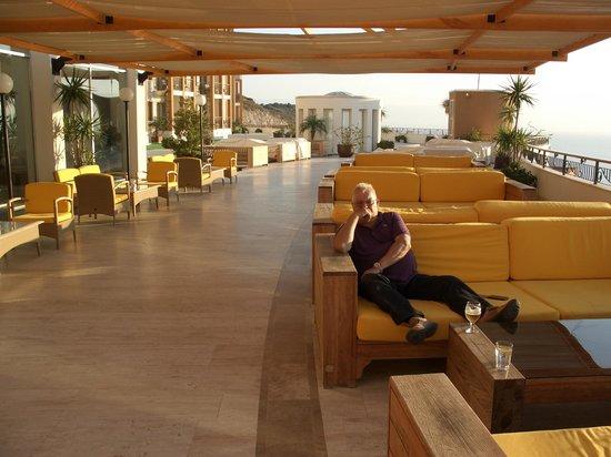 Kefaluka Resort : Lobbybar-Außen...