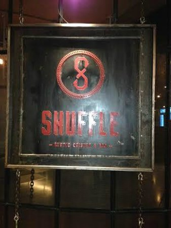 Shuffle: Look for this sign on the 2nd floor