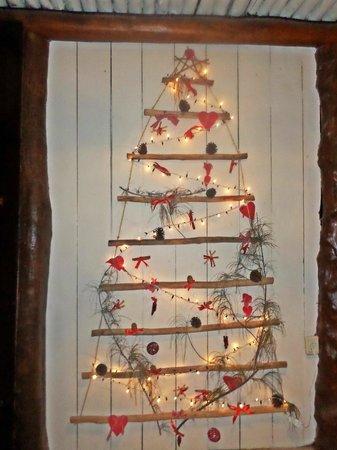 Amaité Hotel & Spa: decoración navidad