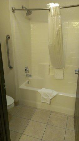 Holiday Inn Express Showlow : Bathroom and tub