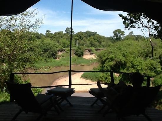 Mara Explorer Camp: View at Mara Explorer from Tent #10