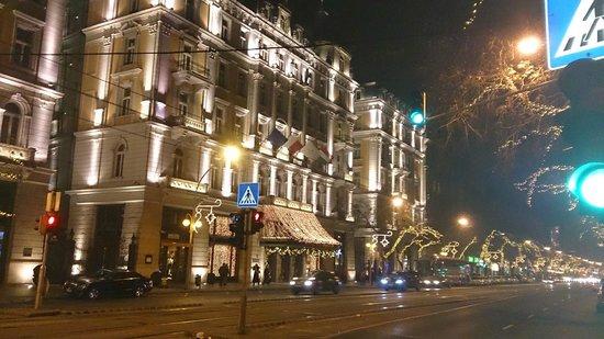 Corinthia Hotel Budapest: Hotel at Christmas