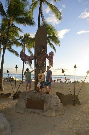 Outrigger Waikiki Beach Resort: Public area