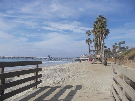 San Clemente, CA: south of pier