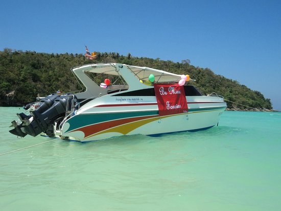 Coral Seekers: Our Speedboat for the Day