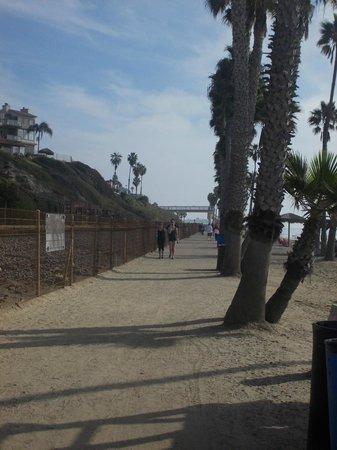 San Clemente Coastal Trail: south of pier