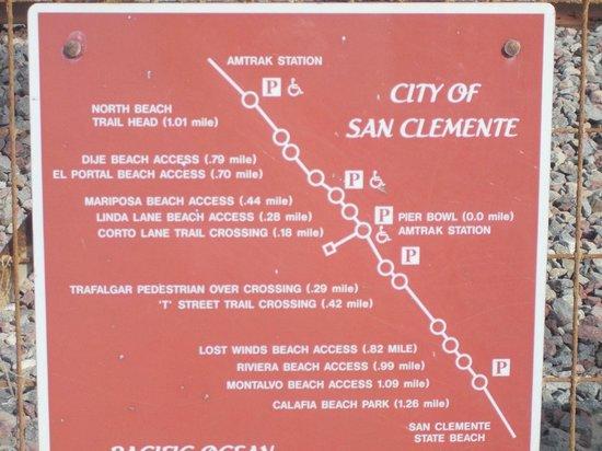San Clemente, CA: SCCT map
