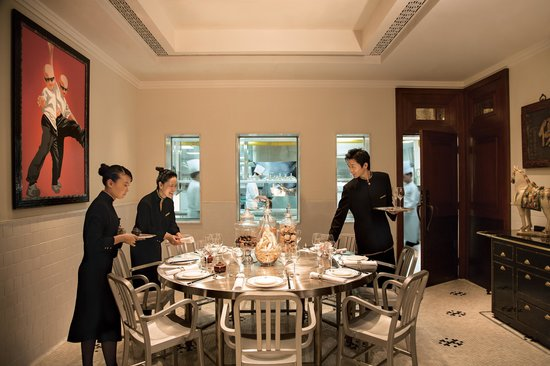 ‪‪The Peninsula Shanghai‬: Yi Long Court Chefs' Table‬