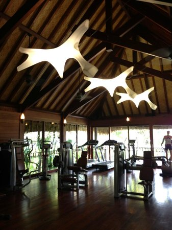 ‪منتجع Four Seasons Resort Bora Bora: Gym‬
