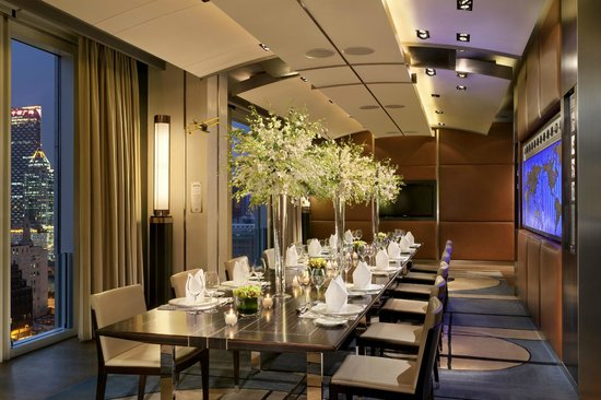 The Peninsula Shanghai: Aviation Lounge Meeting