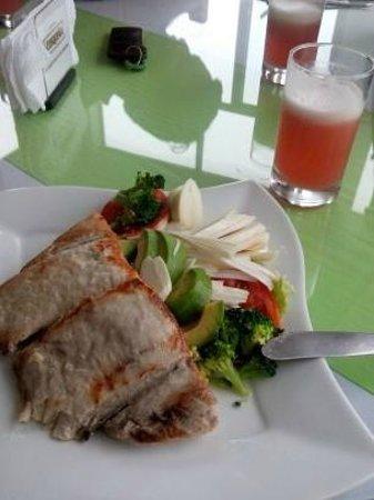 Hotel Rio Huallaga: Mi almuerzo