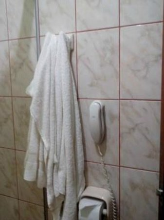 Hotel Rio Huallaga: Tenía teléfono