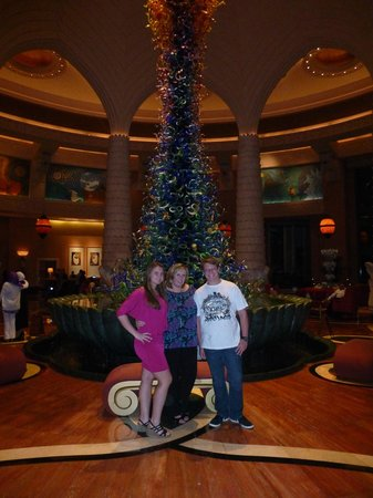 Atlantis, The Palm : After dinner photo in reception