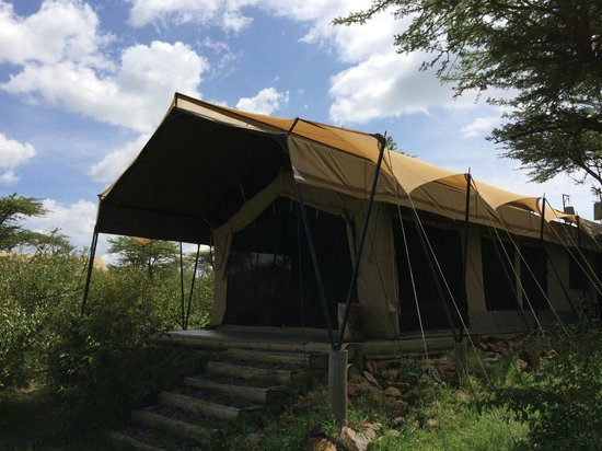Naboisho Camp, Asilia Africa: こんなテントです