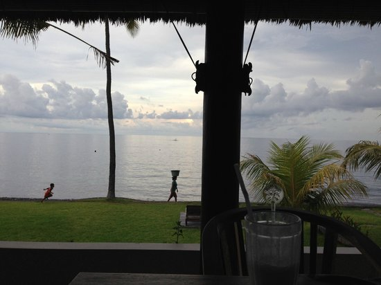 Kubu Indah Dive & Spa Resort: beautiful view at sun set