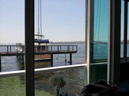 Mosmans Restaurant: View form our table
