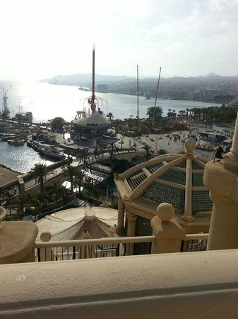 Queen of Sheba Eilat: View from Executive Lounge 8th Floor