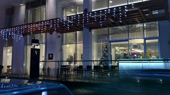Hotel Valentina : Entrée de l'hôtel