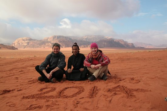 Wadi Rum Green Desert: with our superb guide!