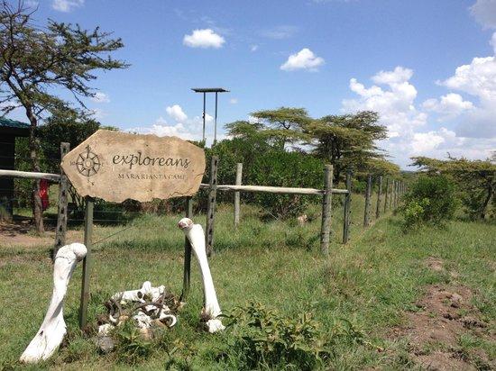 Neptune Mara Rianta Luxury Camp: 入口