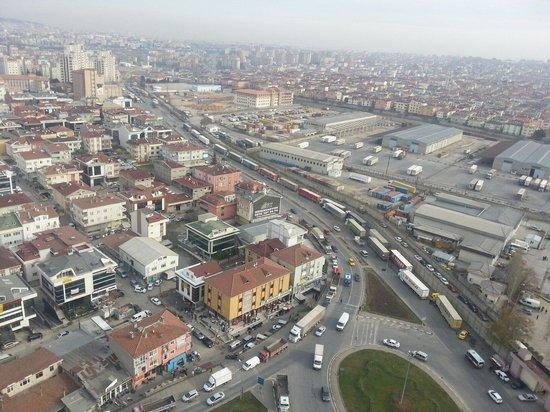 Silence Istanbul Hotel & Convention Center: Odalardan klasik bir manzara.. wiev from romm