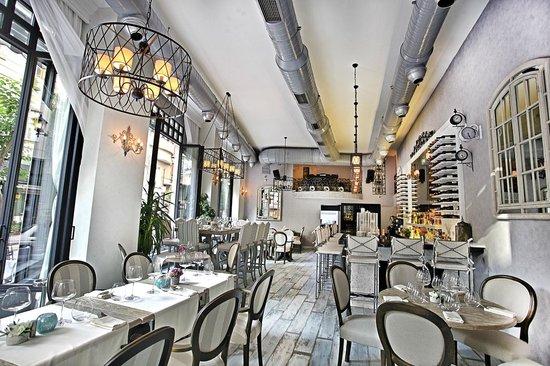 Hotel Villa Zurich: Restaurant