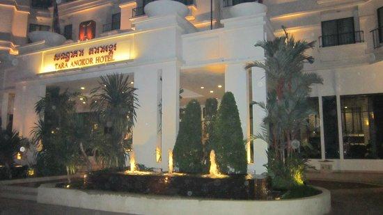 Tara Angkor Hotel : ingresso