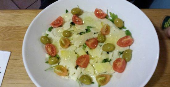 The Avenue : Salade Parmesan, salade verte
