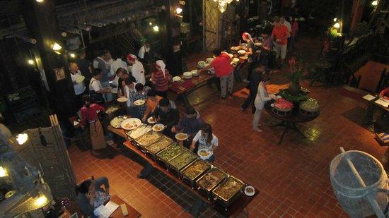 River Kwai Resotel : buffet