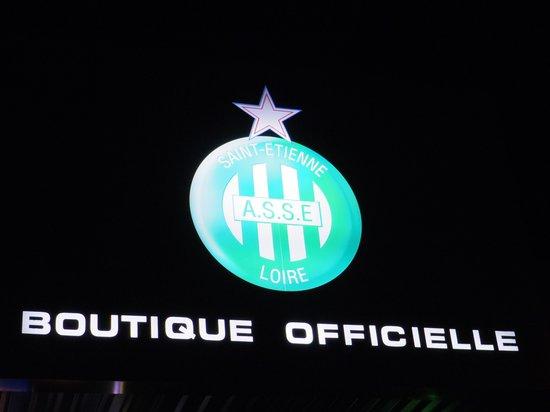 Stade Geoffroy Guichard : サンテティエンヌのチームマーク